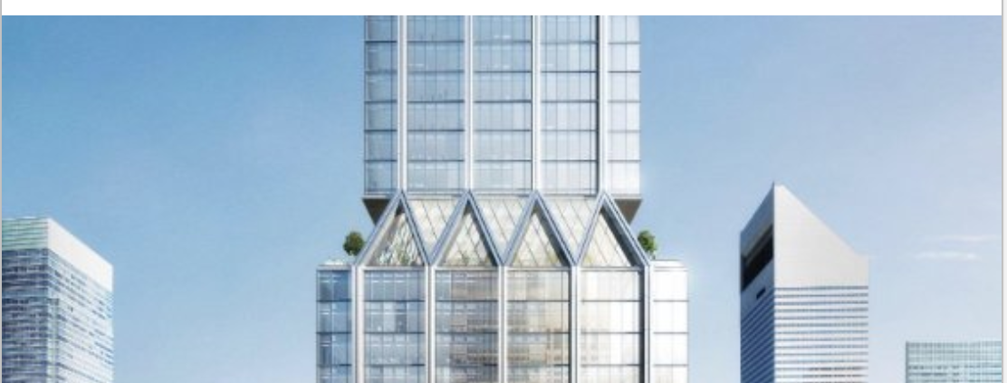 L + L's Landmark Trident Topped Skyscraper is Shaping Up